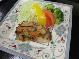 白身魚の千草焼き